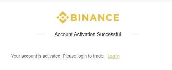 activation binance account tutorial cia