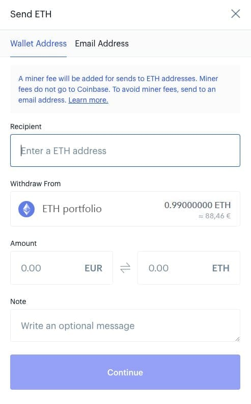an ethereum address
