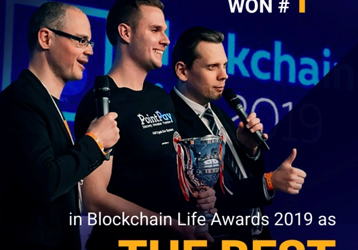 PointPay has been elected the best blockchain startup 2019